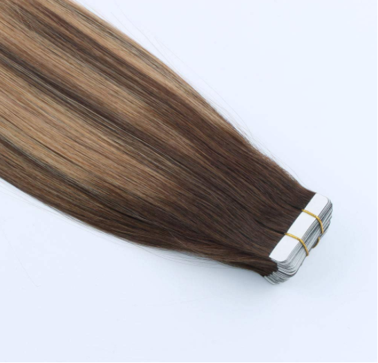 Wholesale high quality tape hair extensions factory QM159
